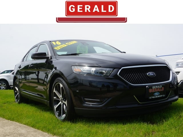 2016 Ford Taurus Sho >> Pre Owned 2016 Ford Taurus Sho Sedan For Sale L2180 Gerald Auto Group